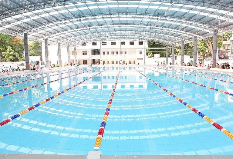 Trải nghiệm bể bơi tăng bạt hổ