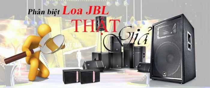 Dấu hiệu nhận biết loa karaoke JBL thật và giả